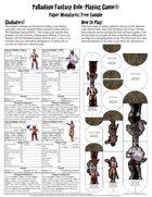 Palladium Fantasy RPG® Paper Miniatures Free Sample