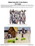 Palladium Fantasy RPG® Paper Miniatures #4: Undead