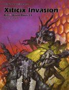 Rifts® World Book 23: Xiticix Invasion™