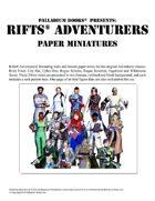 Rifts® Paper Miniatures: Adventurers
