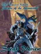 Rifts® Secrets of the Atlanteans Sneak Preview
