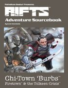 Rifts® Adventure Sourcebook Two: Firetown™ & the Tolkeen Crisis™