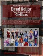 Dead Reign® Paper Miniatures, Volume II: Civilians