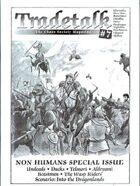 Tradetalk # 7 - Non Humans Special Issue
