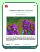 Stone of the Daoine Sidhe