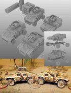 MATV Apache/ Comanche Model for 3d printing (STL)