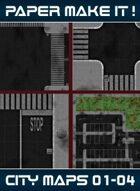 City Map Bundle 01 - 04 [BUNDLE]