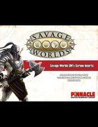 Savage Worlds GM Screen Inserts