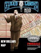 Deadlands Noir Combat Maps: New Orleans