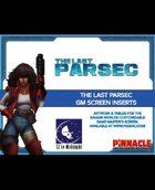 The Last Parsec: GM Screen Inserts