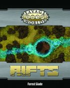 Savage Rifts: Forest Glade Combat Map