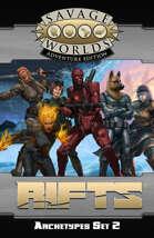 Savage Rifts: Archetypes Set 2 (SWADE Edition)
