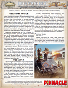 Deadlands Reloaded: Ruckus at Worm Creek (Perilous Parcels One Sheet)