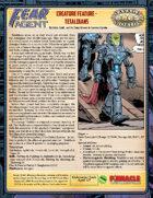 Fear Agent: Creature Feature - Tetaldians