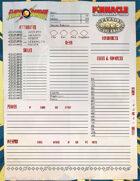 The Savage World of Flash Gordon: Character Sheet