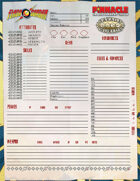 The Savage World of Flash Gordon: Form Fillable Character Sheet