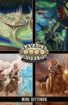 Savage Worlds Adventure Edition: MiniSettings