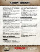 Fear Agent: SWADE Conversion