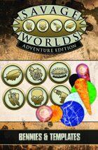 Savage Worlds Adventure Edition: VTT Bennies & Templates