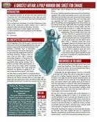 A Ghostly Affair (SWADE One Sheet)