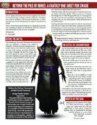 Beyond the Pile of Bones (SWADE One Sheet)