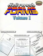 Hollywood Forms - Volume 1