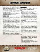 50 Fathoms: SWADE Conversion