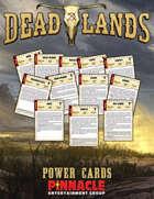 Deadlands: The Weird West VTT Power Cards