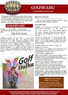 The True Horror of the Golf Fields: GOLFHULHU