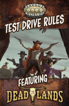 Savage Worlds Adventure Edition: Test Drive