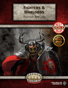 Fighters & Warlords (Fantasy Add-On)