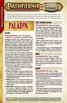 Pathfinder® for Savage Worlds: Paladin Preview