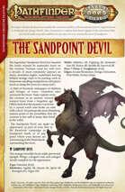 Pathfinder® for Savage Worlds: Sandpoint Devil Creature Feature