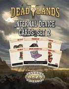 Deadlands: The Weird West Infernal Device Cards 2
