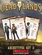 Deadlands: The Weird West VTT Archetype Cards 3
