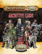 Pathfinder® for Savage Worlds Archetype Cards Set 1