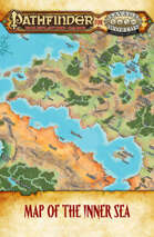 Pathfinder® for Savage Worlds Inner Sea Map