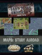 ETU: East Texas University - DIY VTT Study Abroad Map Pack