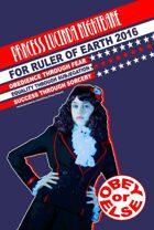 Princess Lucinda Election Poster