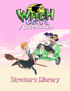 Witch Girls Adventures Director' s Library [BUNDLE]