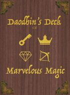 Daodhin's Deck of Marvelous Magic FLT01