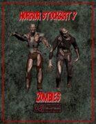 Horror Stockart 7: Zombies