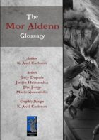 The Mor Aldenn Glossary