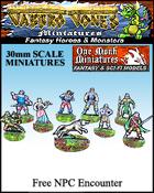 Jabbro Jones Miniatures: Fantasy NPCs: Free Fantasy NPC Encounter