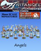 Anitangel Miniatures: Fantasy Creatures: Angels