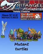 Anitangel Miniatures: Fantasy Creatures: Free Mutant Turtles