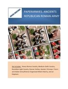 PAPERARMIES-ANCIENT (Republican Rome)