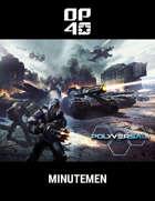 Polyversal Quick Start Combatant Tile Pack - OPFOR Minutemen