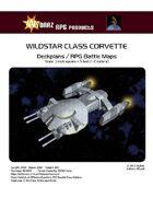 Wildstar Class Corvette/RPG Battle Maps
