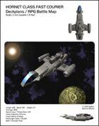 Hornet Class Fast Courier Deckplans/RPG Battle Maps